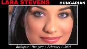 Lara stevens - casting x 55