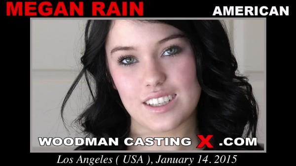 Woodman casting x megan rain