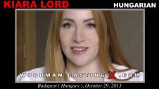 Sex Castings Kiara lord