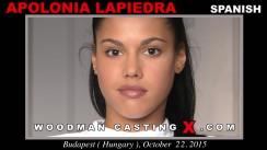 Watch Apolonia Lapiedra first XXX video. A Spanish girl, Apolonia Lapiedra will have sex with Pierre Woodman.