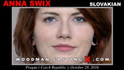 Watch our casting video of Anna Swix. Erotic meeting between Pierre Woodman and Anna Swix, a Slovak girl.