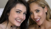 Chloe Amour and Adria Rae - Hard - Lovely day with 2-guys
