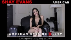 Download Shay Evans casting video files. Pierre Woodman undress Shay Evans, a American girl.